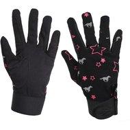 Red Horse Handschoenen Print Pink