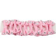 Red Horse Plaiting Ribbons Pink