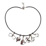 Red Horse Halskette mit Anhängern Silber