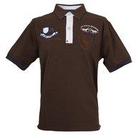 HV Polo Poloshirt Facundo NGr Jr. Dark Brown S