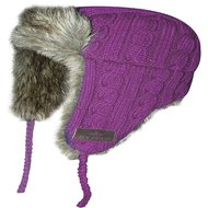 HV Polo Muts Knitted Fur Violet -