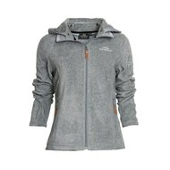 HV Polo Jacket Clarinda Fleece Grey Melange