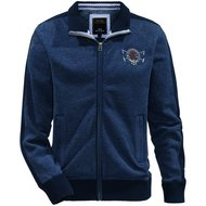 HV Polo Society Sweater Hensley Denim Melange