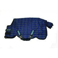 Rhino Original Turnout Medium Navy Light Blue Check
