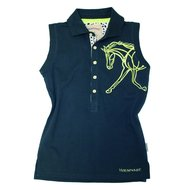 Horseware Mouwloos Shirt Flamboro Navy Kiss