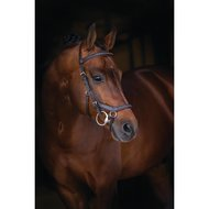 Rambo Micklem Deluxe Competition Bridle Dark Havanna
