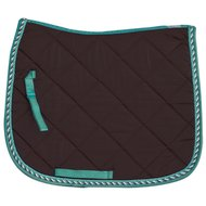 Imperial Riding Saddle Pad GP Italy Dark Brown-Teal