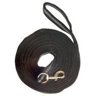 Imperial Riding Lunging Side Rope Crushion Soft Black / Grey