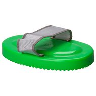 Impulz Curry Comb Plastic with Grip Neon-Green