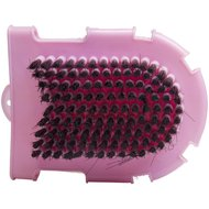 Imperial Riding Grooming Glove with Brush Roze