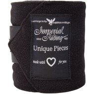 Imperial Riding Bandages Fleece Easy Going Black