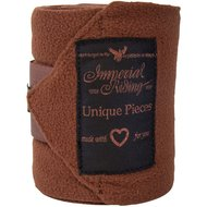 Imperial Riding Bandages Fleece Easy Going Brown