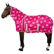 Imperial Riding Fly Rug Daisy Flower Pink