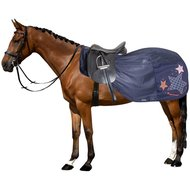 Imperial Riding Fliegen Trainingdecke Fly Away Navy