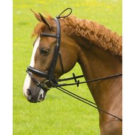 Imperial Riding Halsverlenger Elastiek Plastic Clip Zwart