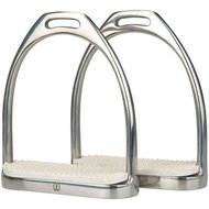 Imperial Riding Stirrups Fillis Heavy with Soles RVS