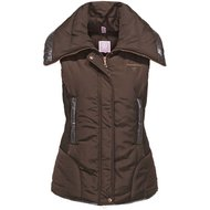 Imperial Riding Bodywarmer Wonderful Woman Lined Brown