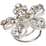 Imperial Riding Haarcurly Crystal Set Flower 10st
