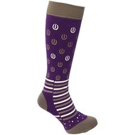 Imperial Riding Stiefelsocken Lucky Horse Shoe Lila