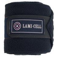 Lami-Cell Polo bandages Crystal per set van 4 navy 3,5m