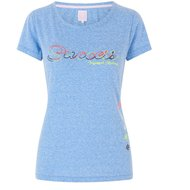 IR T-shirt Pray Blue Breeze