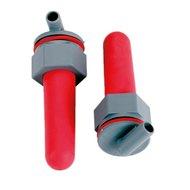 Kerbl Ersatzventil mit Sauger Rot 2 Stück