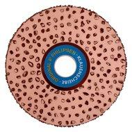 Kerbl Superklauenscheibe beidseitig bestückt 115mm