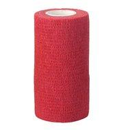 Kerbl Bandage de Maintien Premiers Secours 10cm Rouge 10cm