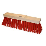 Kerbl Street Broom Red