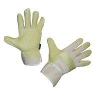 Varkenslederen handschoenen Menor