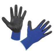 Kerbl Feinstrickhandschuh Airtec, U3-Gewebe, Blau/Schwarz 9