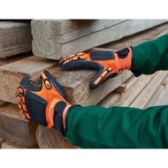 Kerbl Mechanics Glove Brandy