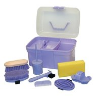 Kerbl Grooming Box with Contents for Children Lila