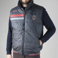 Covalliero Bodywarmer Milano Antraciet/Rood