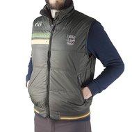 Covalliero Bodywarmer Milano Bruin/Oranje