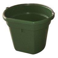 Kerbl Futter-u. Wassereimer FlatBack Grün 20L