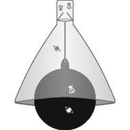 Kerbl Losse Zwarte Bal voor Dazenval TaonX