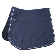 Kerbl Saddle Cloth Classic Multipurpose Navy Silver Navy