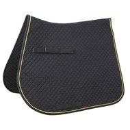 Kerbl Saddle Cloth Classic Multipurpose Black/Gold/Black