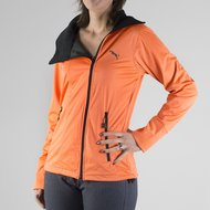 ea.St Softshell Vest Lilly Mandarin Red XL