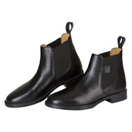 Leather-riding boots Classic black, size 44