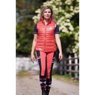 Covalliero Bodywarmer Dames Patricia Hibiscus Red