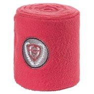 Covalliero Bandage Fleece 4st  Hibiscus Red