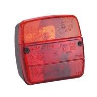 Kerbl Dreikammer-Schlussleuchte m.Kennzbeleucht. 108x103mm