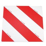 Kerbl Warntafel verzinkt DIN 11030 Rot/Weiß 423x423mm