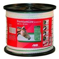 Ako Lint Premiumline Wit-groen 38mm 200mtr