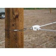 Ako Isolateur Oeuf pour Premium Horse Wire 3 Pièce