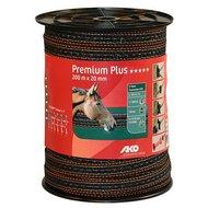 Ako Premium Plus Lint bruin/oranje 20mm 200m