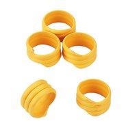 Kerbl Spiralring, Kunststoff, 100St./Pack Gelb 16mm