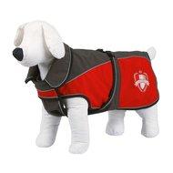 Kerbl Softshell hondenjas Lathi, grijs/rood, XXL 60cm